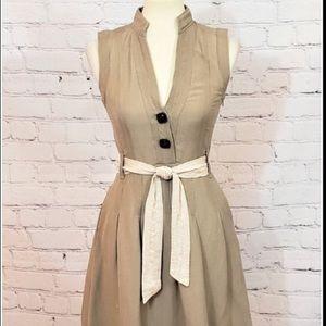 ZARA khaki dress
